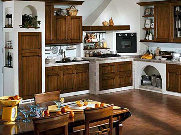 Beautiful Cucine In Muratura Economiche Contemporary - Ideas ...