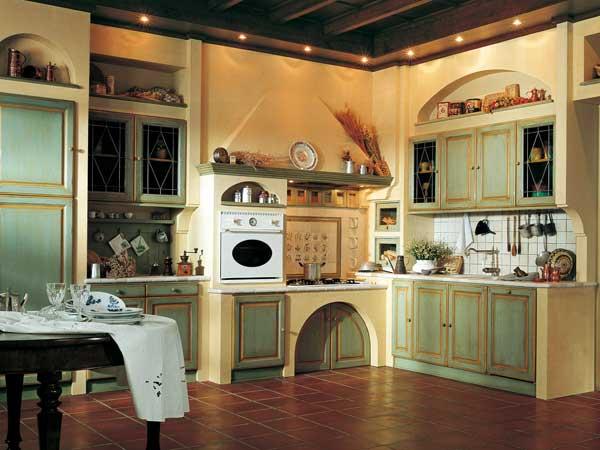 Cucine in finta muratura Forlì Cesena – Moderne rustiche con ...